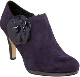 New ANNE KLEIN Warmuth PURPLE ANKLE BOOT Womens 8.5 M