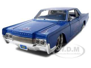 1966 LINCOLN CONTINENTAL BLUE 126 DIECAST CUSTOM