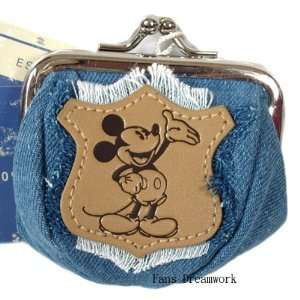 Disney Mickey Mouse Coin Purse  Jean click coin purse