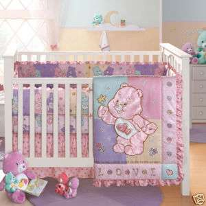 CARE BEARS ROOM DECOR NURSERY BEDDING INFANT CRIB SET