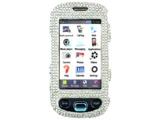 CRYSTAL FACEPLATE HARD SKIN CASE COVER SAMSUNG HIGHLIGHT T749