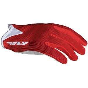 Fly Racing Lite Race Gloves   Large/Red Automotive