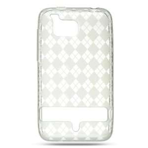 Premium Crystal Clear Checker TPU Rubber Protective Case