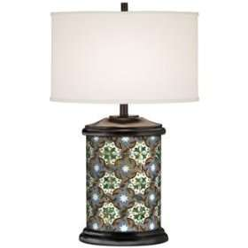 Santa Clara Giclee Art Base Table Lamp