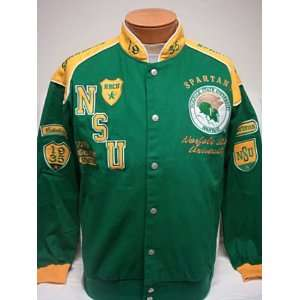 Large   Norfolk State University NSU Hornets Heavyweight Racing Style