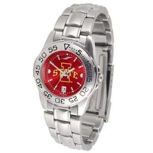 Iowa State Cyclones NCAA AnoChrome Sport Ladies Watch