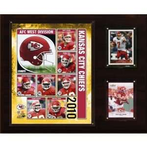 NFL Kansas City Chiefs 2010 Team Plaque