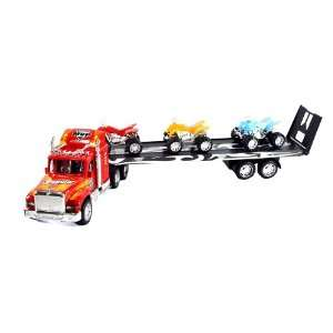 556 Champion Super Power Truck Trailer Toy Toys & Games