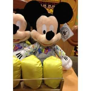 Disney Park 2012 Mickey Mouse Plush Doll NEW Everything