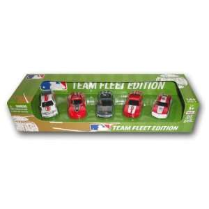 MLB Boston Red Sox Top Dog 5 piece Diecast Gift Set