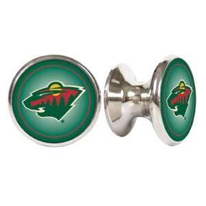 Minnesota Wild NHL Stainless Steel Cabinet Knob/ Drawer