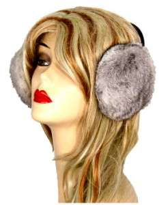 New Womens Fur EARMUFFS Ear Muffs Warm Soft MANY COLORS
