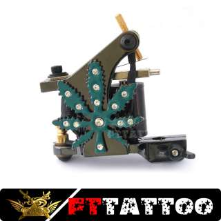 Handmade Cast tattoo Machine Liner Shader Gun Fttattoo