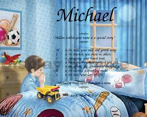 Personalized Name Poem Son Grandson Or Nephew Birthday Or Christmas