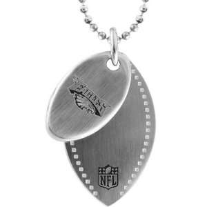 Philadelphia Eagles 2 Piece Dog Tag with Chain Sports
