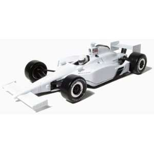 2011 Blank White Autograph Indy Car 1/18 Toys & Games