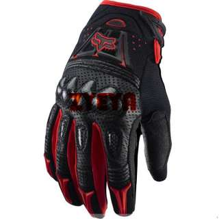 Fox Racing Bomber Offroad Cycling MTB Gloves Red M/L/XL