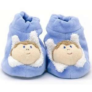 Furnis Blue Baby Booties Baby