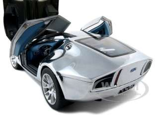 new 1 18 scale diecast car model of ford shelby gr 1 concept chrome