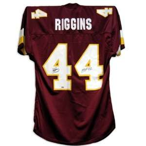 John Riggins Signed Jersey   with HOF Inscription