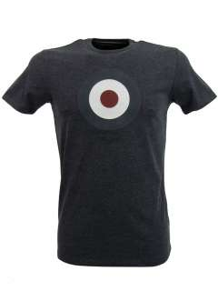 Ben Sherman T Shirt Throne Retro Mod Target Print