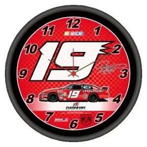 Elliott Sadler Round Clock