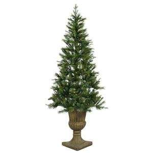 ft. x 46 in. Christmas Tree Potted Oneco Half 200C