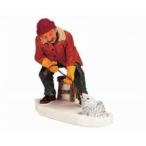 Lemax Vail Village Collection The Big One Figurine