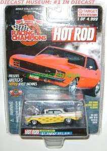 1957 57 CHEVY BEL AIR HOT ROD MAGAZINE DIECAST RARE