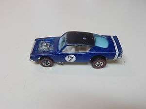 HTF1970 Red Line Hot Wheel KING KUDA WITH BLACK ROOF BLUE HK