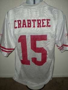 NEW IRREGULAR Michael Crabtree #15 San Francisco 49ers MENS Medium