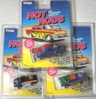 1994 TYCO HP7 Hot Rods Chevy Chevy Ford Slot Car MOC A+