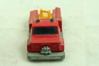 Vintage Toy Matchbox Superfast Snorkel Fire Engine 13