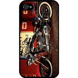 Davidson Motorcycle Design Black Hard Case Cover for Apple iPhone® 4