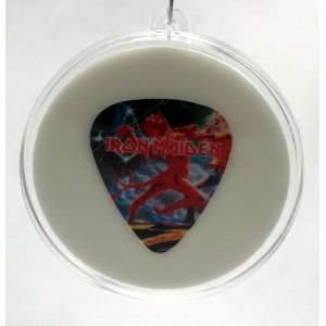 Iron Maiden Eddie Guitar Pick #3 With MADE IN USA Christmas Tree