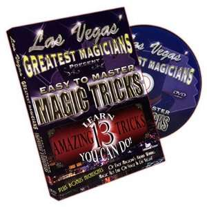 Magic DVD Easy to Master Magic Tricks by Las Vegas