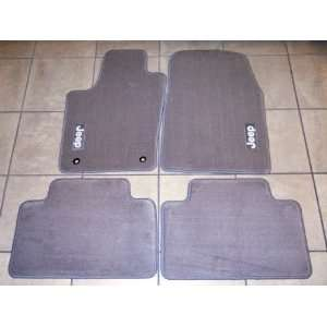 Jeep Grand Cherokee 2011 2012 Medium Graystone Floor Mats