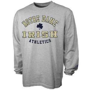 Adidas Notre Dame Fighting Irish Ash Rivalry Long Sleeve T