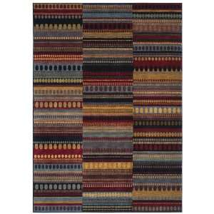 First Lady Collection Kilimanjaro Multi Nylon Area Rug 7