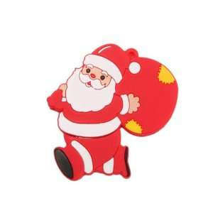 1GB Present Santa Claus Cartoon USB 2.0 Flash Memory Drive