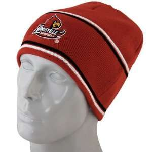 Louisville Cardinals Red Bleachers Knit Beanie