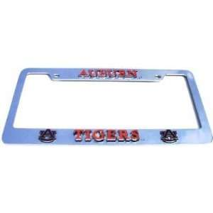 Auburn Tigers License Plate Tag Frame