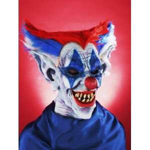 Crazy Out of Control Clown Mask New Costume Accessory [Toy