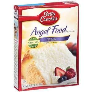 Betty Crocker White Angel Food Cake Mix   Pack Of 3 (16oz) Boxes