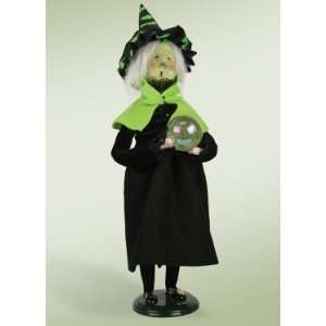 Byers Choice Carolers   Halloween   Witch with Crystal Ball