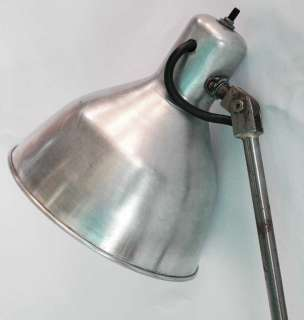 FRENCH ART DECO INDUSTRIAL FLOOR LAMP LIGHT