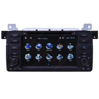 New 2001 06 BMW E46 M3 Car GPS Navigation System Radio TV IPOD  CD