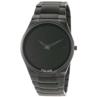 Police Mens PL 12744JSB/02M Horizon Black Dial Black IP Steel