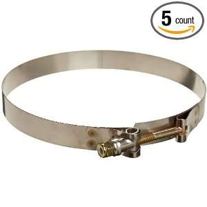 Murray TB Series Stainless Steel 300 Bolt Hose Clamp, 6.31 Min Clamp