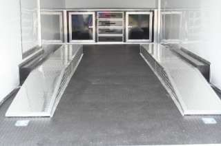 5X24 ENCLOSED CARGO CAR AUTO HAULER RACE TRAILER   RACE READY II